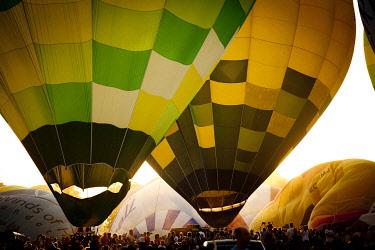 SPA4125 Air balloon Festival in Igualada, Barcelona, Spain
