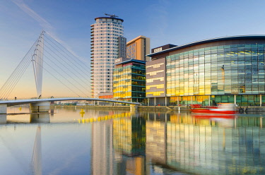 UK, England, Greater Manchester, Salford, Salford Quays, North Bay, MediaCityUK housing BBC.