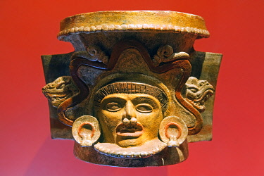 ELS0003 Central America, El Salvador, San Salvador (capital city), Museo Nacional de Antropologia David J Guzman, Anthropology museum