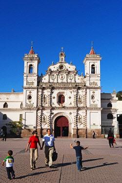 HON0059 Central America, Honduras, Tegucigalpa (capital city), Iglesia Los Dolores