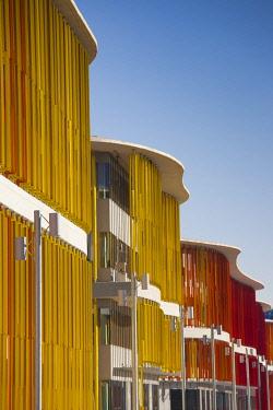 ES04226 Spain, Aragon Region, Zaragoza Province, Zaragoza, Zaragoza Expo Site,  Spanish Pavilion building