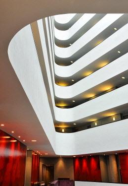 ENG10301AW Europe, England, Lancashire, Liverpool, Radisson Blu Hotel.