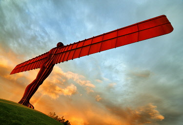 Europe, England, Newcastle, Angel of the North