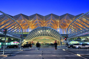 POR6748AW Orient Station, designed by the architect Santiago Calatrava. Lisbon, Portugal