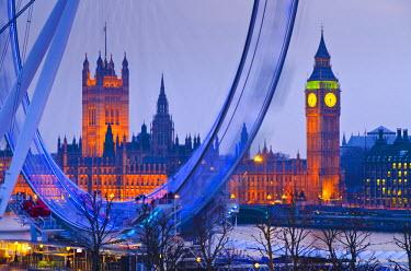UK10517 UK, England, London, London Eye and Big Ben