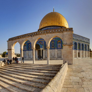 IS30201 Israel, Jerusalem, Temple Mount, Dome of the Rock