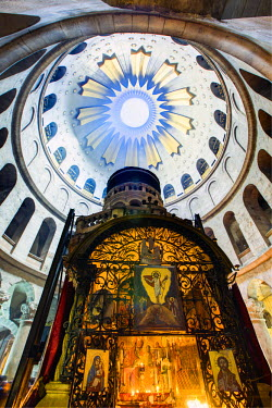 IS30204 Israel, Jerusalem, Old City, Christian Quarter, Church of the Holy Sepulchre