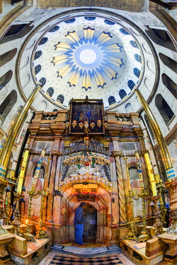 IS30206 Israel, Jerusalem, Old City, Christian Quarter, Church of the Holy Sepulchre