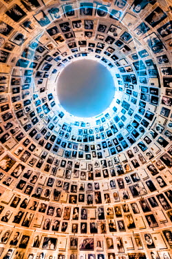 IS30226 Israel, Jerusalem, Mt. Herzl, Yad Vashem Holocaust Memorial, Hall of Names