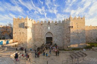 IS30229 Israel, Jerusalem, The Old City, Damascus Gate