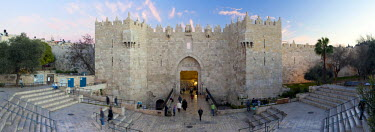 IS30230 Israel, Jerusalem, The Old City, Damascus Gate