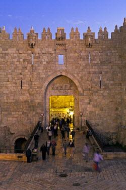 IS30231 Israel, Jerusalem, The Old City, Damascus Gate