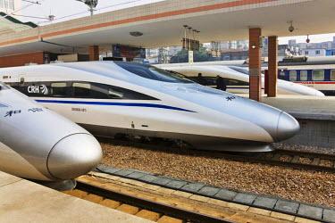 AS07_KSU1363_M High speed train, Shanghai, China