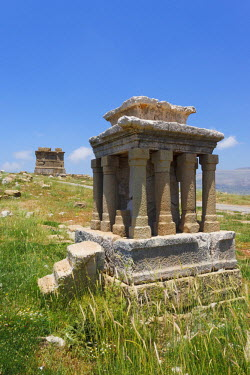 AS21_AKA0243_M Ancient ruins in Faqra near Faraya, Lebanon