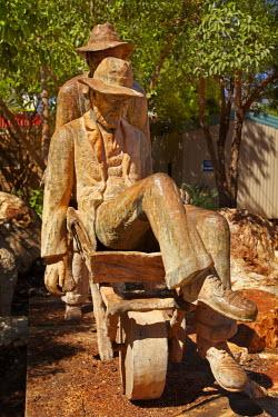 AU01_DWA4307_M Russian Jack Memorial, Memorial Park, Halls Creek, Kimberley Region, Western Australia, Australia
