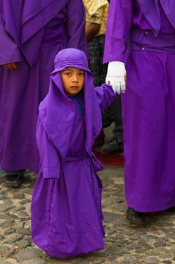 SA10_SPI0095_M Holy Week Procession, Antigua, Guatemala.