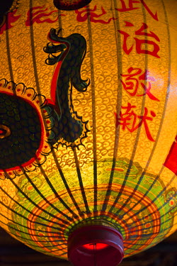 TW01062 Taiwan, Taipei, Lantern at Bao-an Temple
