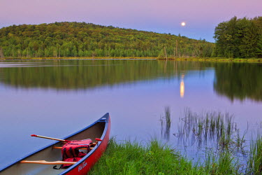US46_JMO0374_M Mud Pond in Zack Woods.  Hyde Park, Vermont, USA