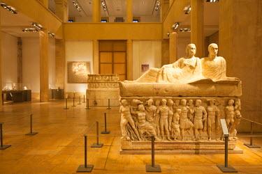 LEB0009AW Lebanon, Beirut. The National Museum.