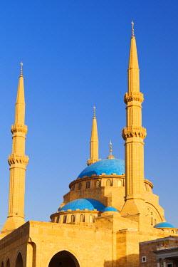 LEB0015AW Lebanon, Beirut. Mohammed Al-Amin Mosque.