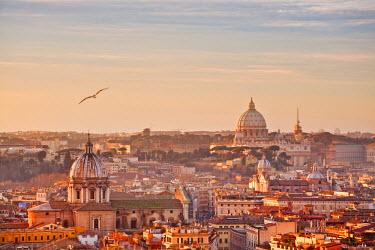 ITA1121AW View from the top of Vittoriano, Rome, Lazio, Italy, Europe.