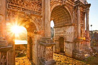 ITA1137AW Roman Forum, Rome, Lazio, Italy, Europe.