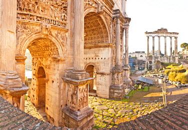 ITA1138AW Roman Forum, Rome, Lazio, Italy, Europe.
