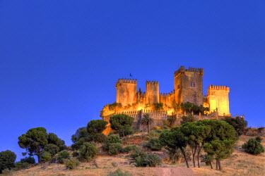 ES05750 Spain, Andalucia, Cordoba, Almodovar del Rio Castle