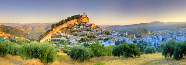 ES05776 Spain, Andalucia, Granada Province, Montefrio Village