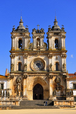 POR6780AW Alcobaca monastery, a UNESCO World Heritage Site. Portugal
