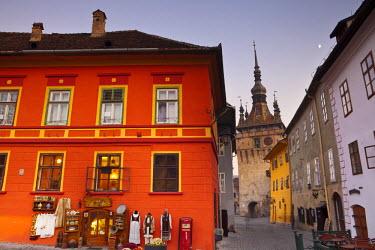 RM01297 Clock Tower & Medieval Old Town, Sighisoara, Transylvania, Romania