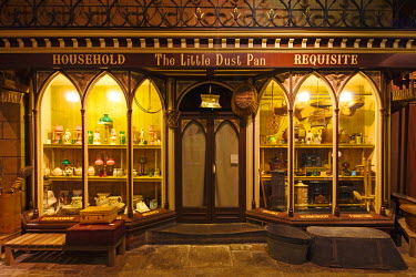 ENG10357AW United Kingdom, England, North Yorkshire, York. Victorian Street in the Castle Museum.