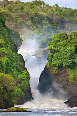 UGA1236 The spectacular Murchison Falls, Uganda, Africa