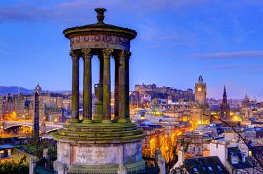 UK03173 UK, Scotland, Edinburgh, Calton Hill, Stewart Monument