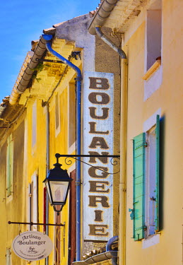 FRA7442AW France, Provence, Orange, Boulangerie sign