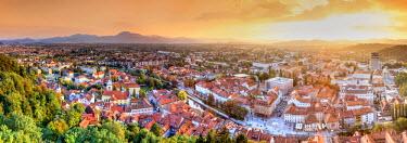 SV01037 Slovenia, Ljubljiana, Old Town
