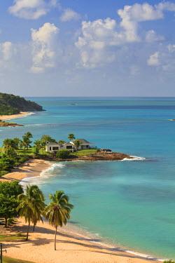 AB01059 Caribbean, Antigua and Barbuda, Hawksbill Beach and resort