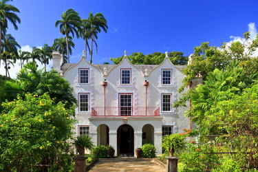 BB01106 Caribbean, Barbados, Historic St. Nicholas Abbey