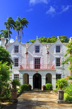 BB01107 Caribbean, Barbados, Historic St. Nicholas Abbey