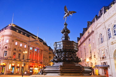 TPX32191 England, London, Soho, Piccadilly Circus, Eros Statue