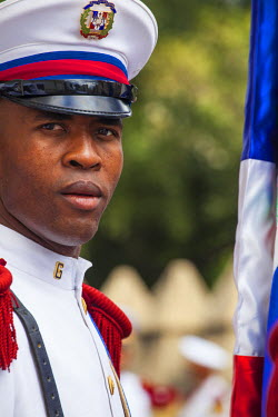 DM01324 Dominican Republic, Santa Domingo, Colonial zone, Independance Day, Presidential guards,