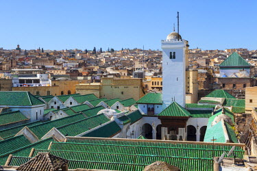 MC02672 The Karaouiyine Mosque, The Medina, Fes, Morocco