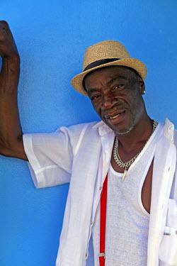 CA03KWI0006 Americas, Caribbean, Antigua and Barbuda. Caribbean native of Antigua.