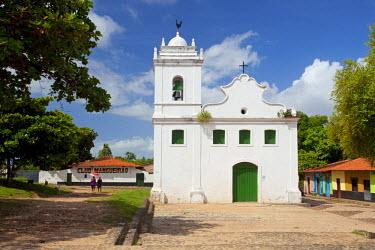 BRA0753AW South America, Brazil, Maranhao, Alcantara, church of Nossa Senhora do Rosario dos Pretos