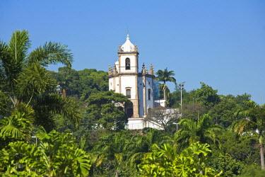 BRA0846AW South America, Brazil, Rio de Janeiro state, Rio de Janeiro city, Gloria, Nossa Senhora da Gloria do Outeiro church