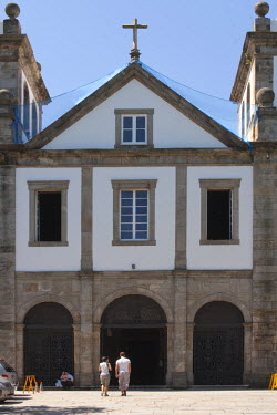 BRA0886AW South America, Brazil, Rio de Janeiro state, Rio de Janeiro city, the entrance to the Benedictine Mosteiro Sao Bento church in the old colonial centre of Rio