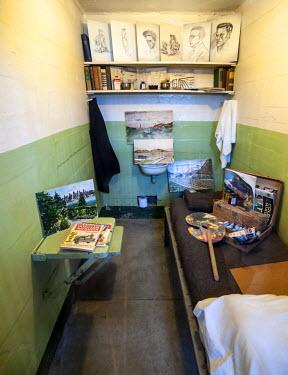 USA8468AW USA, California, San Francisco, Alcatraz, Prison Cell