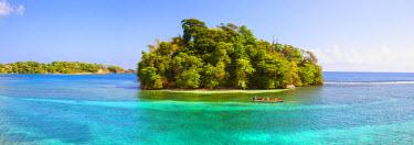 JM02102 Monkey Island, Portland Parish, Jamaica, Caribbean