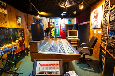 JM02273 Tuff Gong Recording Studios, Kingston, St. Andrew Parish, Jamaica, Caribbean