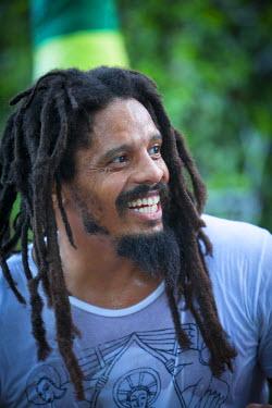 JM02277 Rohan Marley, Bob Marley Museum, Kingston, St. Andrew Parish, Jamaica, Caribbean